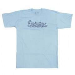 "BRIXTON Tシャツ ""DORY S/S STANDARD TEE"" (Light Blue)"