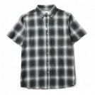 "★30%OFF★ CRIMIE S/Sシャツ ""CHECK B.D SHIRT"" (Green)"