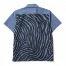 "★30%OFF★ CRIMIE S/Sシャツ ""CHAMBRAY TIGER SHIRT"" (Navy)"