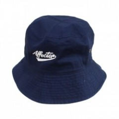 "AFFECTER ハット ""AFF BUCKET HAT"" (Navy)"