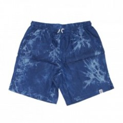 "Deviluse ショーツ ""DENIM EASY SHORTS"" (TieDyeDenim)"