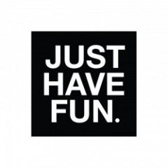 "JHF ステッカー ""Just Have Fun Sticker"""