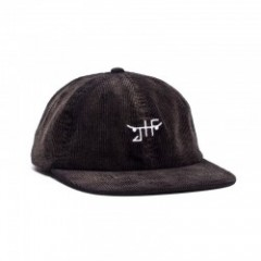 "JHF キャップ ""Burnout Velcro Strapback"" (Black)"