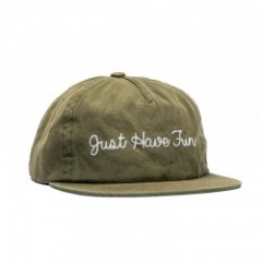 "JHF キャップ ""Faded Strapback"" (Olive)"