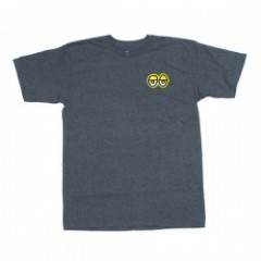 "KROOKED Tシャツ ""EYES TEE"" (Charcoal Heather)"
