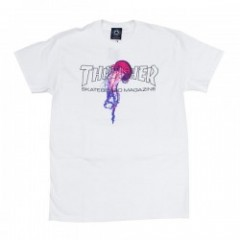 "THRASHER Tシャツ ""ATLANTIC DRIFT S/S TEE"" (White)"