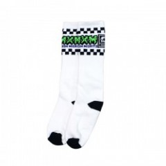 "SOCCO×MxMxM ""MAGICAL CHECKER MISFITS HIGH SOX"" Wht"
