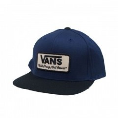 "VANS キャップ ""ROWLEY SNAPBACK CAP""  (D.Blues/Black)"