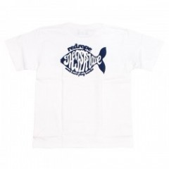 "redrope Tシャツ ""THE FISH SLAVE S/S TEE"" (White)"