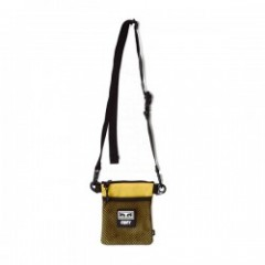 "OBEY ミニショルダーバッグ ""CONDITIONS SIDE POUCH"" (Energy Yellow)"