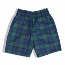 "COOKMAN ショーツ ""CHEF SHORT PANTS"" (Black Watch Check / Navy)"