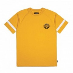 "BRIXTON Tシャツ ""NEWELL S/S KNIT"" (Yellow)"