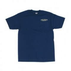 "LOSER MACHINE ポケットTシャツ ""BACK DOWN"" (HarborBlue)"