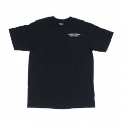 "LOSER MACHINE ポケットTシャツ ""BACK DOWN"" (Black)"