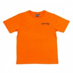 "THRASHER ポケットTシャツ ""HOMETOWN POCKET TEE"" (Org/Blk)"