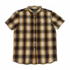 "LOSER MACHINE S/Sシャツ ""BRADBURY"" (Brown)"