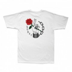 "LOSER MACHINE Tシャツ ""SHACKLES TEE"" (White)"