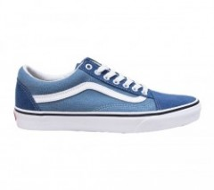"VANS ""OLD SKOOL"" (Denim 2-Tone) Blue/True White"