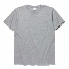 "RADIALL Tシャツ ""PLAIN CREW NECK POCKET T-SHIRT"" (Heather Gray)"