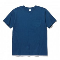 "RADIALL Tシャツ ""PLAIN CREW NECK POCKET T-SHIRT"" (Navy)"