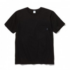 "RADIALL Tシャツ ""PLAIN CREW NECK POCKET T-SHIRT"" (Black)"