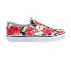 "VANS ""CLASSIC SLIP-ON"" (DIGI ALOHA) Black/T.White"