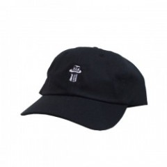 "OBEY キャップ ""ILLUSION 6 PANEL HAT"" (Black)"