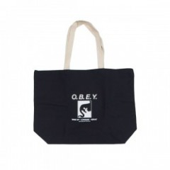 "OBEY トートバッグ ""WAKE UP CONSUME REPEAT"" (Black)"