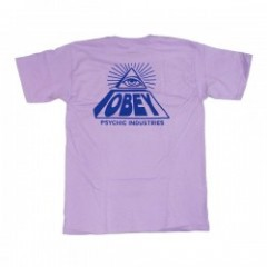 "OBEY Tシャツ ""PSYCHIC INDUSTRIES"" (Lavender)"