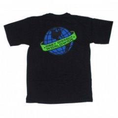 "OBEY Tシャツ ""DISSENTGLOBE"" (Black)"