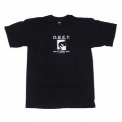 "OBEY Tシャツ ""WAKE UP CONSUME REPEAT"" (Black)"