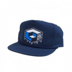 "MxMxM×CONSOLIDATED ""MAGICAL CUBE MISFITS CAP"" Navy"