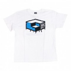 "MxMxM×CONSOLIDATED ""MAGICAL CUBE MISFITS TEE""White"