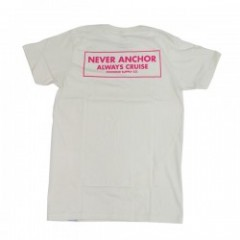 "★30%OFF★Diamond Supply Co. ""NEVER ANCHOR TEE""Cream"