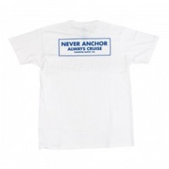 ★30%OFF★ Diamond Supply Co. NEVER ANCHOR TEE White