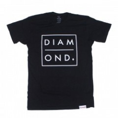 "Diamond Supply Co. Tシャツ ""OUTLINE TEE"" (Black)"