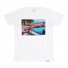 "★30%OFF★ Diamond Supply Co. ""GETAWAY TEE"" (White)"