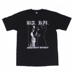 "BARRIER KULT Tシャツ ""ANONYMITY RITUALS"" (Black)"