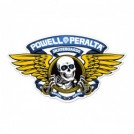 "POWELL ステッカー ""WINGED RIPPER Die-Cut 5'"" (Blue)"