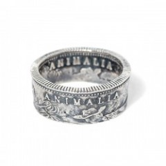 "ANIMALIA リング ""CA1849 Coin Ring-SILVER925"""