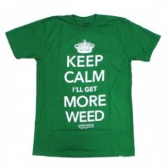 "★40%OFF★ seedleSs Tシャツ ""KEEP CALM TEE"" (Green)"
