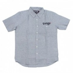 "range S/Sシャツ ""RG WAFFLE PLAIN SHIRTS"" (Light Gray)"