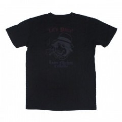 "LOSER MACHINE ポケットTシャツ ""PARTY DOG TEE"" (Black)"