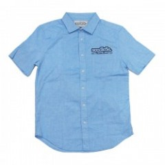 "seedleSs ""SD COTTON HEMP STRETCH SHIRTS"" (Sax Blue"