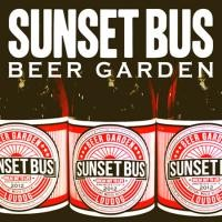 "SUNSET BUS ""BEER GARDEN"""