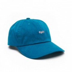 "OBEY キャップ ""CUTTY 6 PANEL SNAPBACK CAP"" (Deep Teal)"