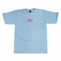 "OBEY Tシャツ ""OBEY TYPEWRITTER TEE"" (Powder Blue)"
