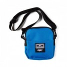 "OBEY ミニショルダーバッグ ""DROP OUT TRAVELER BAG"" (Sky Blue)"