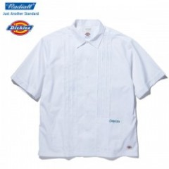 "★30%OFF★ RADIALL×DICKIES ""LADE BACK O.C. SHIRT S/S"" (White)"