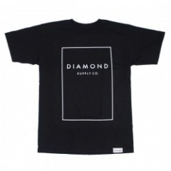 "DIAMOND SUPPLY CO. Tシャツ ""BOXED IN TEE"" (Black)"